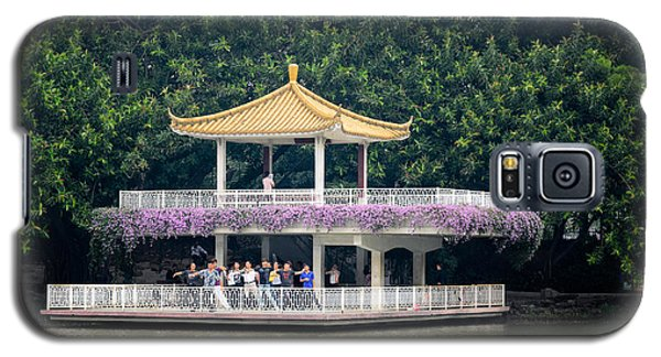 Chinese Style Pavillion In A Peaceful Park.  Galaxy S5 Case
