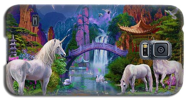 Chinese Unicorns Galaxy S5 Case by Jan Patrik Krasny
