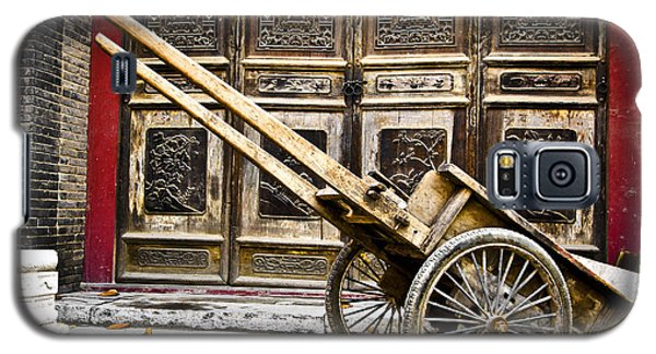 Chinese Wagon In Color Xi'an China Galaxy S5 Case