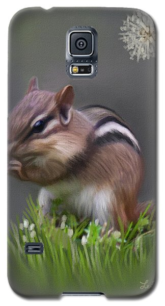 Chipmunk Galaxy S5 Case by Lena Auxier