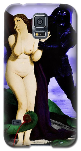 Galaxy S5 Case featuring the digital art Chivalry by Sasha Keen
