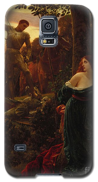 Knight Galaxy S5 Case - Chivalry by Sir Frank Dicksee