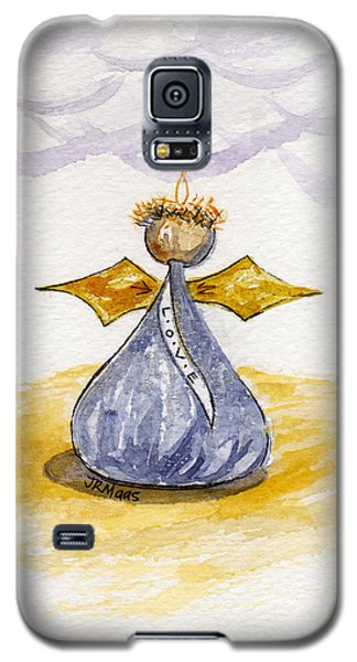Chocolate Kissing Angel Galaxy S5 Case by Julie Maas