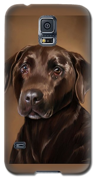 Chocolate Lab Galaxy S5 Case