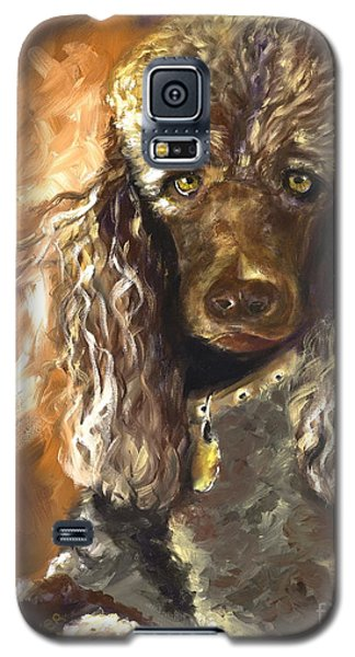 Chocolate Poodle Galaxy S5 Case