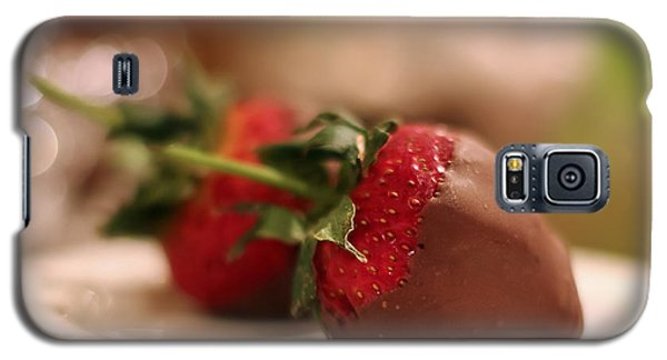 Chocolate Strawberries Galaxy S5 Case