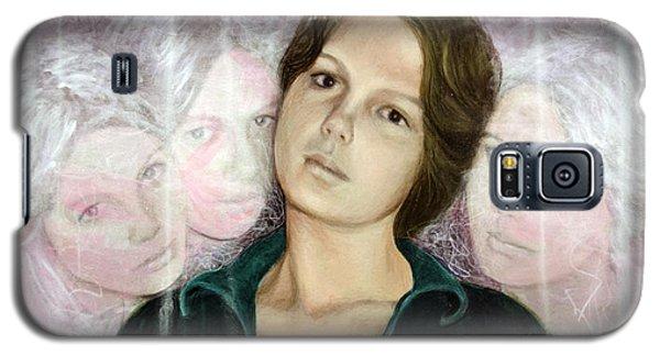 Choices Portrait Of Eva Lynn Horton Galaxy S5 Case by Ron Richard Baviello