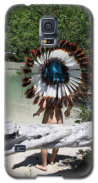 Chokoskee Island Fl. Indian 119 Galaxy S5 Case by Lucky Cole