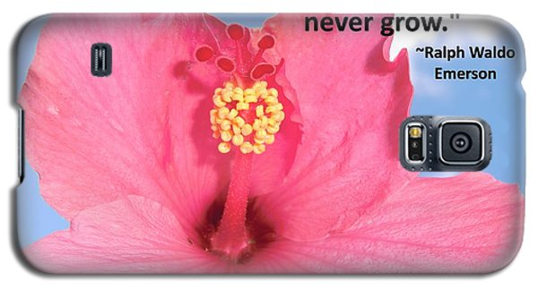 Choose Your Quote Choose Your Picture 5 Galaxy S5 Case