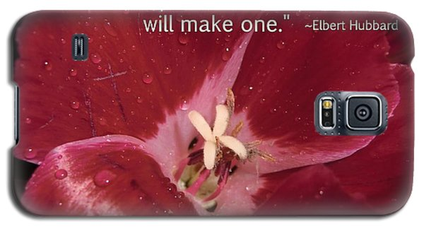 Choose Your Quote Choose Your Picture 8 Galaxy S5 Case