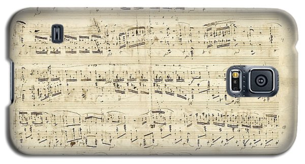 Chopin Polonaise Op 53 Galaxy S5 Case