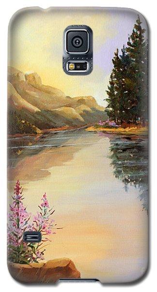 Chost Island In Morning Colors Galaxy S5 Case by Marta Styk