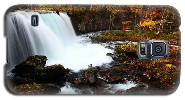 Choushi - Ootaki Waterfall In Autumn Galaxy S5 Case