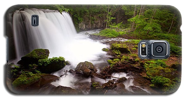 Choushi - Ootaki Waterfall In Summer Galaxy S5 Case