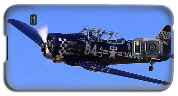 Chris Lefave In His North American Snj-4 Midnight Express At Reno Air Races  Galaxy S5 Case