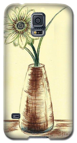 Chrysanthemum Flower Galaxy S5 Case by Teresa White
