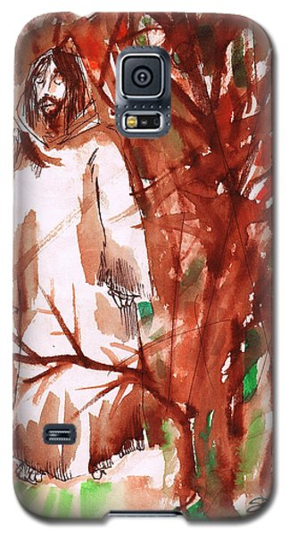 Christ In The Forest Galaxy S5 Case