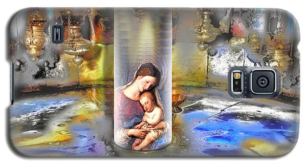 Christ Is Born 2009 Galaxy S5 Case