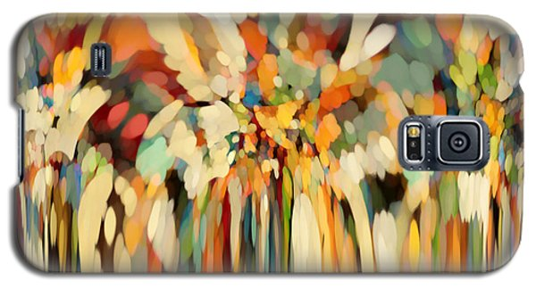 Christian Art- Angels Guiding Lot. Genesis 19 15 Galaxy S5 Case by Mark Lawrence