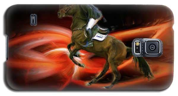 Christian Heineking On Horse Nkr Selena Galaxy S5 Case