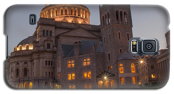 Galaxy S5 Case featuring the photograph Christian Science Center 2 by Mike Ste Marie