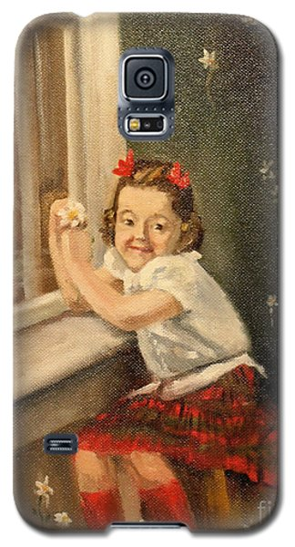 Christine By The Window - 1945 Galaxy S5 Case