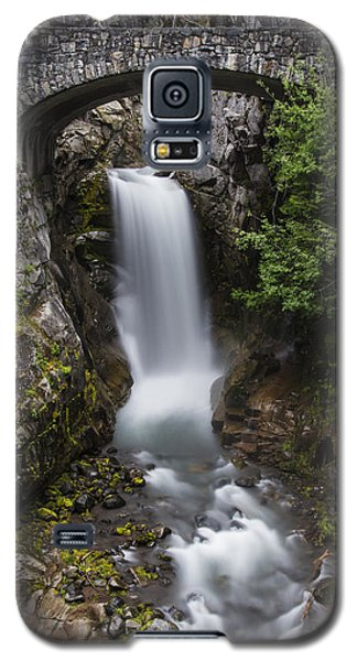 Christine Falls At Dusk Galaxy S5 Case