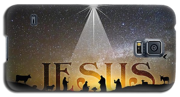 Jesus Our Hope Savior And King Galaxy S5 Case
