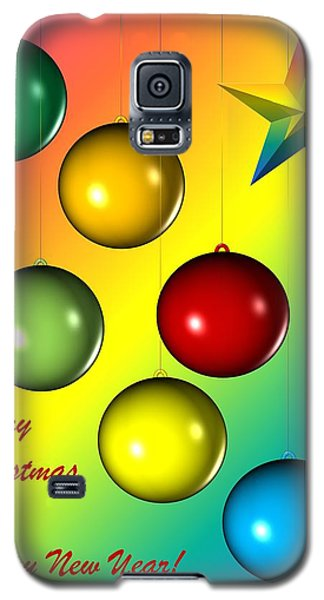 Christmas And New Year Galaxy S5 Case