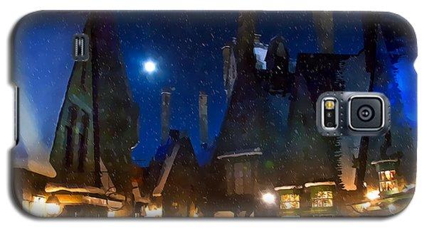 Christmas At Hogsmeade Blank Galaxy S5 Case by Mark Andrew Thomas