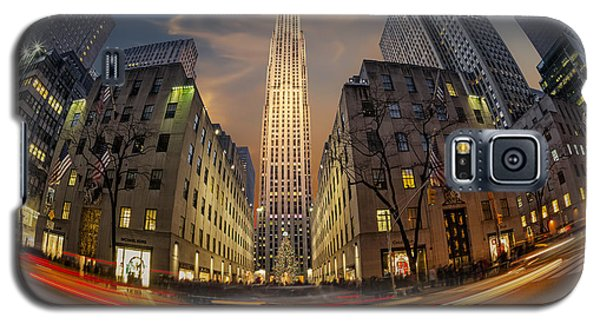 Christmas At Rockefeller Center Galaxy S5 Case