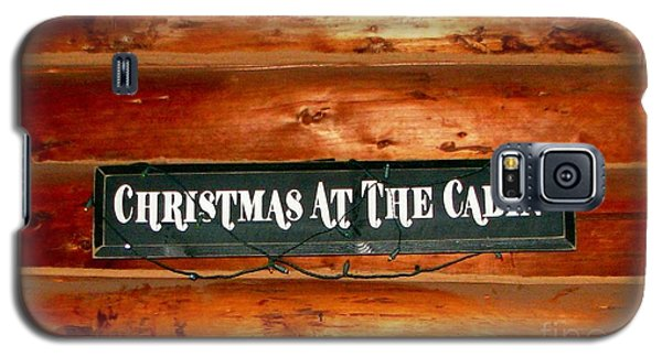 Christmas At The Cabin Galaxy S5 Case
