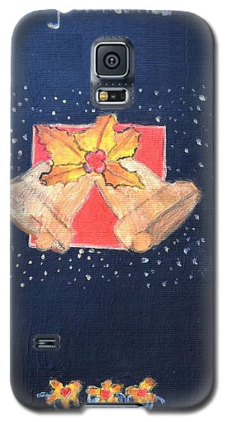 Galaxy S5 Case featuring the painting Christmas Bells by Magdalena Frohnsdorff