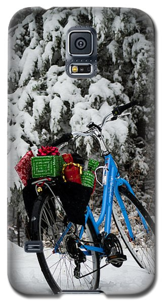 Christmas Bike Galaxy S5 Case