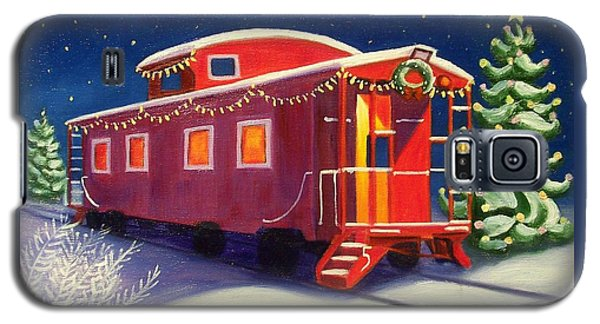 Christmas Caboose Galaxy S5 Case