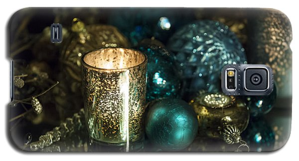 Christmas Candles Galaxy S5 Case