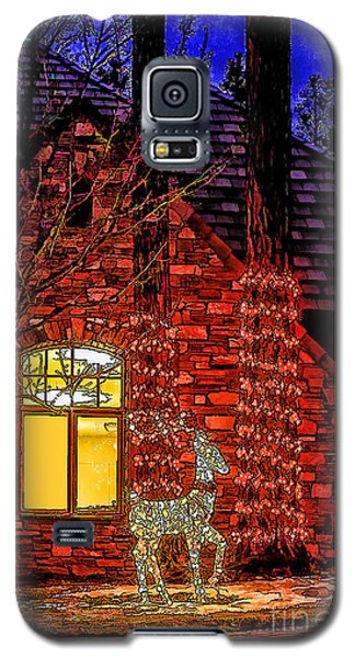 Christmas Card -2014 Galaxy S5 Case by Nancy Marie Ricketts