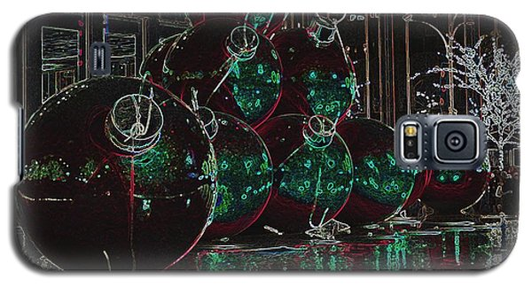 Christmas Card Galaxy S5 Case by Laurinda Bowling