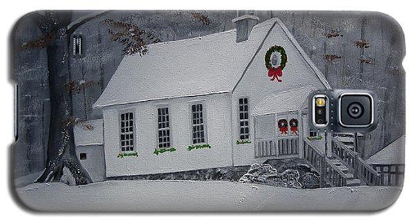 Christmas Card - Snow - Gates Chapel Galaxy S5 Case