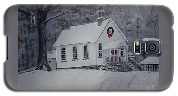 Christmas Card - Snow - Gates Chapel Galaxy S5 Case