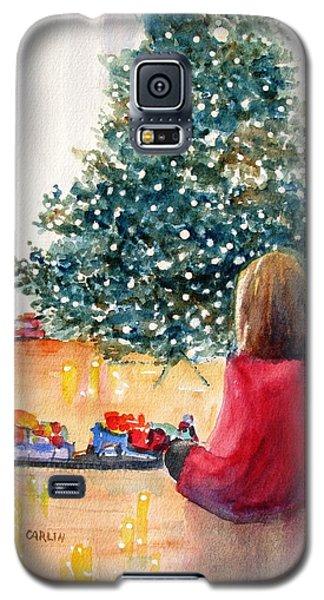 Christmas  Galaxy S5 Case by Carlin Blahnik
