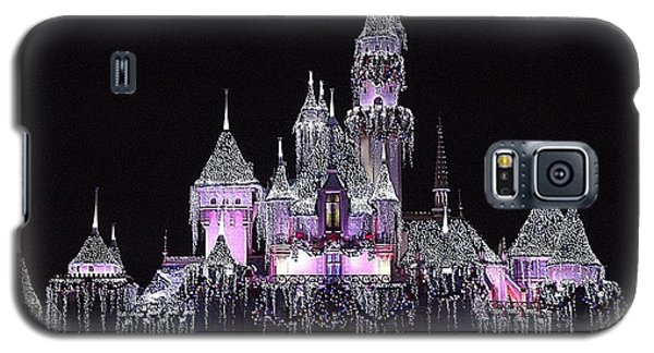 Christmas Castle Night Galaxy S5 Case