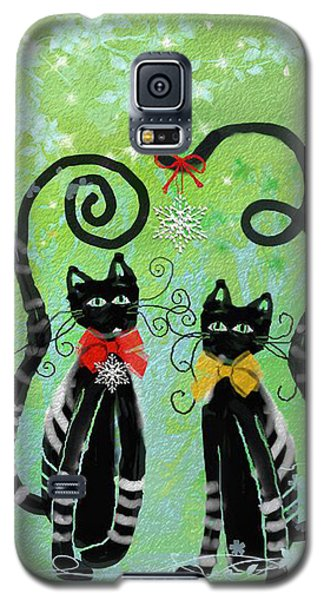 Christmas Cats Galaxy S5 Case