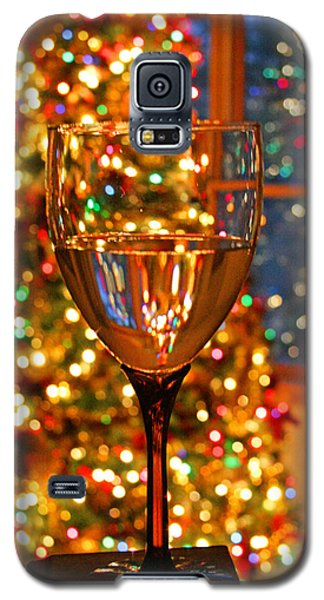 Christmas Cheer Galaxy S5 Case by Barbara West