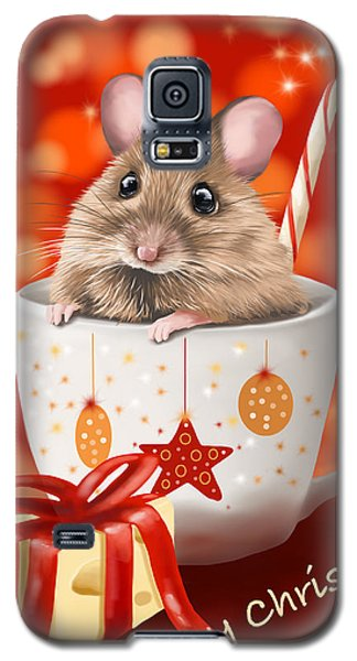 Christmas Cup Galaxy S5 Case by Veronica Minozzi