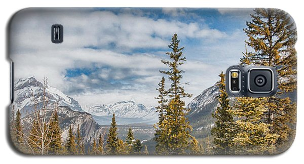 Christmas Day In Banff Galaxy S5 Case
