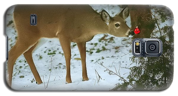 Christmas Doe Galaxy S5 Case by Clare VanderVeen