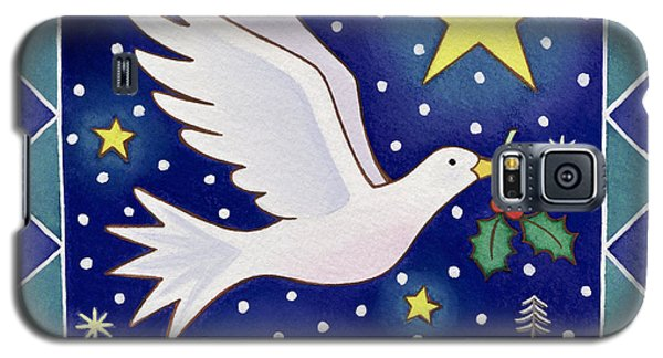 Christmas Dove  Galaxy S5 Case by Cathy Baxter
