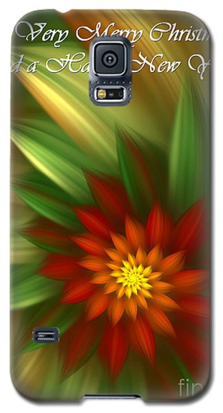 Christmas Flower Galaxy S5 Case