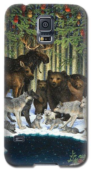 Christmas Gathering Galaxy S5 Case